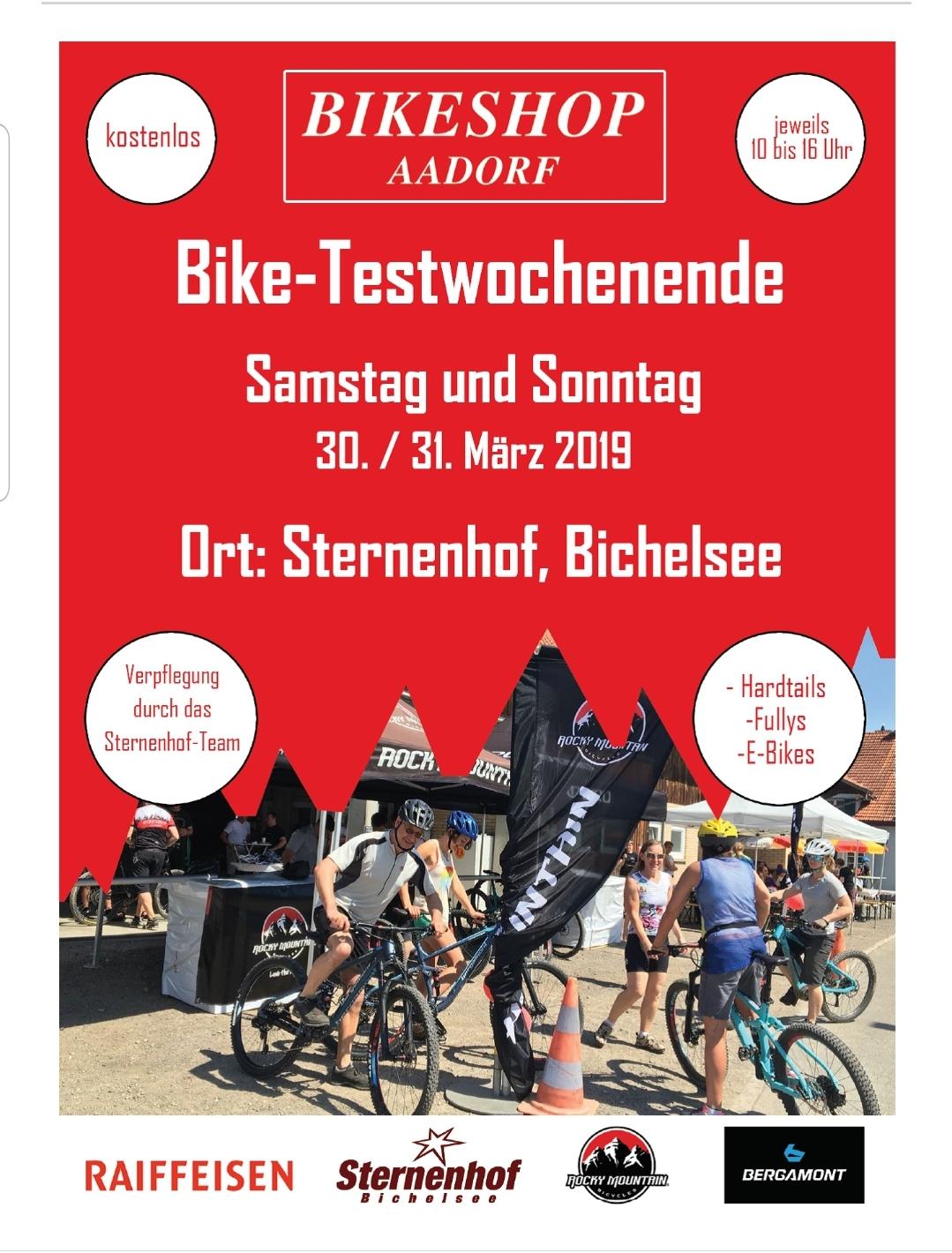 Bike-Testtage 2019