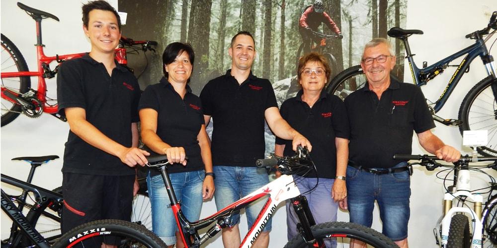 Persönlich und kompetent - Ihr Bikeshop Aadorf Team